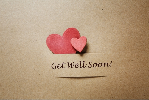 Get Well Soon! - Hearts